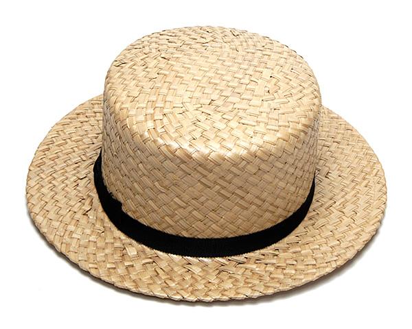 ストローカンカン帽